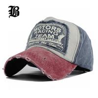 [Flb] All'ingrosso Primavera Cotone Baseball Snapback Hat Estate Hip Hop Cap Cappelli Per Uomo Donna Rettifica Multicolor C19022301