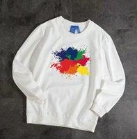 Дизайнерские Мужчины толстовки свитер свитер Мужские толстовки одежда Тонкая длинные рукава молодежные движения бренда Streetweart Fast Ression