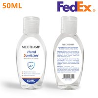 Dhl Ship 75% alcohol Hand Sanitizer 50ml Portable Gel Hand S...