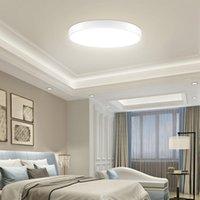 Lampade a soffitto Lampada da letto Lampada da camera rotonda Lampada a LED moderna Minimalista Soggiorno Minimalista Balcone corridoio