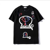 Summer Mens Designer T Shirts With Letters Brand T- shirt for...