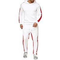 ellesse Mensentwerfer Hoodieklage Qualitäts Tracksuits Pullover Modemarke gesetzt zweiteilige Pullover und Herbst