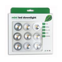 DC12V 15mm 25mm Kesim 1W su geçirmez Mini LED Aşağı Işık Banyo ve Mutfak için oda Fuaye Çalışma Odası Dönüşüm İndeksi Lambalar Yatak