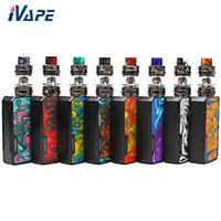 Original VOOPOO Drag 2 Kit 177W con Uforce T2 Tank 5ml UFORCE U2 N3 Triple Mesh Coil Powered by Dual 18650 Batteria