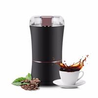 400W 전기 커피 그라인더 미니 주방 소금 후추 그라인더 강력한 콩 향신료 견과 씨앗 커피 콩 그라인드 주방 가전