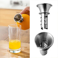 Mini 304 Aço Inoxidável Limão Juicer Household Manual Ferramentas de Perfuração De Limão Cozinha Pequena Fruta Espremedor De Suco De Frutas
