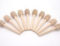 Prezzo di fabbrica! 8CM Mini legno Miele bastone Dippers miele agitatore Honey dipper attrezzo da cucina Rifornimento del partito