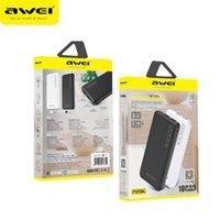 البنك AWEI P28K الطاقة 10000mAh شحن سريع Poverbank المحمولة شاحن مزدوج USB 2.1A بطارية الخارجية لXIAOMI سامسونج هواوي