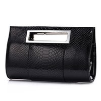 2019 Brand Women Evening Bag Lady Tote Alligator Leather Clu...