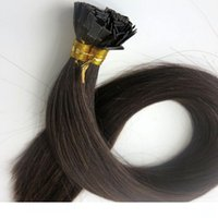 150g 1Set=150Strands Pre Bonded Flat Tip Hair Extensions 18 ...