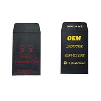 ODM OEM Caixa de Papelão Papel Papel para Embalagem Edibles Shatter Envelope Concentrados Mini Envelopes de embalagem com folha de ouro Logo