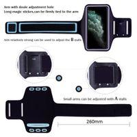 Su geçirmez Spor Koşu Egzersiz Kol Bandı Kılıf iPhone 11 Pro XS Max XR X 8 7 6 6S Artı SE 2020 5 5S 4S SE2 Kapak Çanta