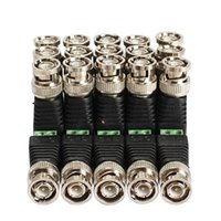 Freeshipping 20 pcs\Lot Coax CAT5 To Camera CCTV BNC Video Balun Connector Adapter