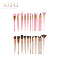 Make-up Pinsel kommen 15 Stück synthetische Kabuki Make-up Pinsel Set Kosmetik Foundation Blending erröten Make-up-Tool