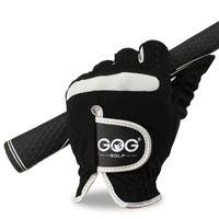 1 Adet Erkekler Golf Eldiven Sol El Sağ Mikro Yumuşak Elyaf Nefes Golf Eldiven Erkekler Renk Siyah Marka GOG