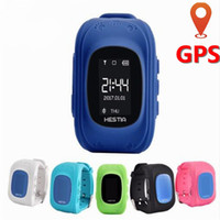 GPS Bambini Guarda il telefono Sim Card LED Baby Smart Guarda SOS Chiamata Location Finder Bambini GPS anti perso Child Wristband di sicurezza