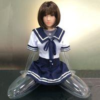 Corpo della bambola della bambola della bambola femminile trasparente trasparente di 65 cm per gli uomini, la bambola gonfiabile della bambola di tiro maniqui per i vestiti, la parte superiore del corpo, il c979