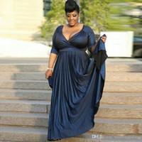 Vintage a-line Plus Size Mother of the Bridal Dresses длина пола оборками формальная одежда Платья матери знаменитости формальные вечерние платья