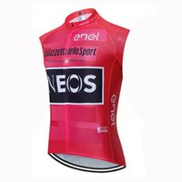 2020 squadra INEOS Maglia Ciclismo senza maniche Vest Mountain Bike Abbigliamento asciutto rapido respirabile esterno della bici abbigliamento U20033132