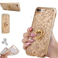 For iPhone X Case Luxury Bling Diamond 3D Soft TPU Silicone ...