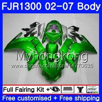 Body Light Green Hot for Yamaha Fjr1300a FJR1300 01 02 03 04 05 06 07 2AHM10 FJR 1300 FJR-1300 2001 2002 2003 2004 2006 2006 2007 2007