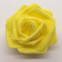 simulazione di rosa luci fiore della gomma piuma testa fiori artificiali palla da sposa decorano rifornimenti fatti a mano vendite calde più colore 0 22srC1