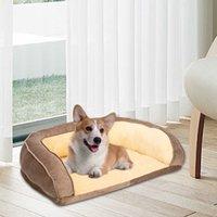 """36 """"كلب سرير الحيوانات الأليفة أريكة وسادة وسادة PP القطن براون تنفس والحيوانات الأليفة في البيت مريح"""