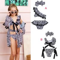 2019 New Fashion Toddler Baby Girls Kids Leopard Print Swims...