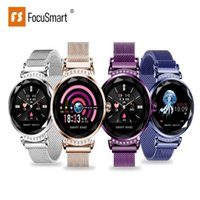 FocuSmart H2 smart watch women blood pressure fitness tracke...