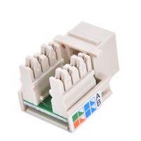 CAT6 / cat5e Módulo Network Information soquete conector RJ45 Adaptador Keystone Jack