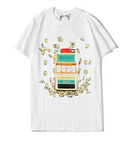 Mens Designer-T-Shirts Modemarken-Männer Baumwolle Designer Shirt Bequem Brief Print Short Sleeve Luxus Tops