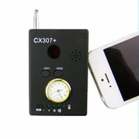 CX307 Multifunktions-Wireless-RF Signal Kamera-Detektor verdrahteter Kamera-Sucher mit Clock Handy-Buster-Mobiltelefon-Detektoren