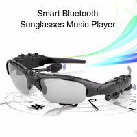 Envío gratis 1280x720p HD gafas gafas de sol de cámara con reproductor de MP3 Bluetooth Popular SunGlasses cam Grabador de video digital