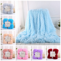 Fluffy Blankets Plush Sherpa Throw Blanket Air Conditioning ...