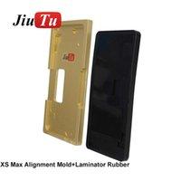 iPhone X XS XS 용 진공 금형 얼라인먼트 금형 + 박리 고무, 금이 간 아이폰 X XS LCD 수리 픽스