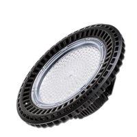Edison2011 LED Yüksek Bay UFO Işık 150W 300W Siyah Dairesel Lambası Beyaz beyaz Depo Süpermarket Stok 110v 220v Asma Luminaire Isınma