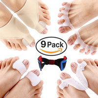 Gel foot Splint for Pain Relief, Silicone Separator Set For f...