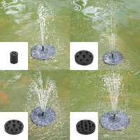Solar Power Fountain Brushless Water Pump Garden Plants Bird...