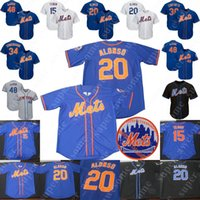 New York Pete Alonso Mets Trikot Marcus Stroman Jeff McNeil Robinson Cano Brandon Nimmo Jacob deGrom Michael Conforto David Wright Tim Tebow