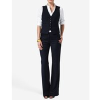 Casual and womens formal wear pantsuits Hot Sale Women Ladies Formal Business Office Suit Vest+Pants New Arrival Tuxedos