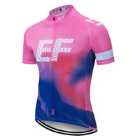 2020 EF Education First Cycling Jersey Summer Racing Tops Männer Radfahren Kleidung ROPA Ciclismo Kurzarm MTB Bike Hemd S21031024