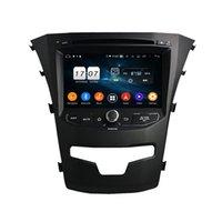 PX5 Octa Core Android 9.0 4G RAM 32G ROM DVD راديو لاعب ل Ssangyong Korando 2014
