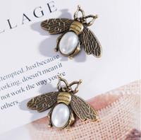 Fashion-nuovo retrò grande spilla ape accessori marea femminile calabrone coleottero versione coreana scialle fibbia sciarpa di seta fibbia