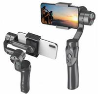 H4 3 AXLS HANDHELD Anti-Shake Mobiltelefon Gimbal Stabilizer för mobiltelefon Action Camera 2020