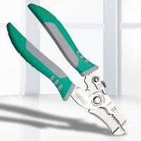 7 인치 다기능 케이블 와이어 스트리퍼 스트립 커터 전선 도매 DBC BH2994 절단 용 플라이어 손 도구를 절단