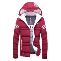 2018 Neue Winter Parkas jacke Männer lässig warme baumwolle mantel herren jacken und mäntel verdicken outwear markenkleidung Asiatische größe M ~ 4XL