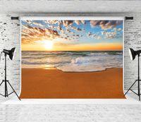 Sogno 7x5ft / 220x150 cm Mare Alba Fotografia Sfondo Nuvole scure Cielo Photo Booth Sfondo per il fotografo Shoot Studio Sfondo Prop