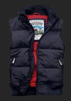 Yeni varış Sonbahar Kış marka Sıcak Erkek Tasarımcı ceketler Yeni Beyaz Kaz Tüyü İnce Kapşonlu Aşağı Yelek Kalın Casual Erkek Yelek mont Aşağı