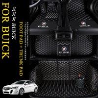 5D design de mode luxe Surround Custom Fit Tapis de voiture pour Buick Encore Enclave Regal LaCrosse GL8 Excelle VRC PARK AVENUE Royaum XT GT