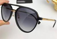 Nuevo diseñador de moda gafas de sol 0105 piloto estilo simple estilo popular de calidad superior uv400 lentes de protección gafas